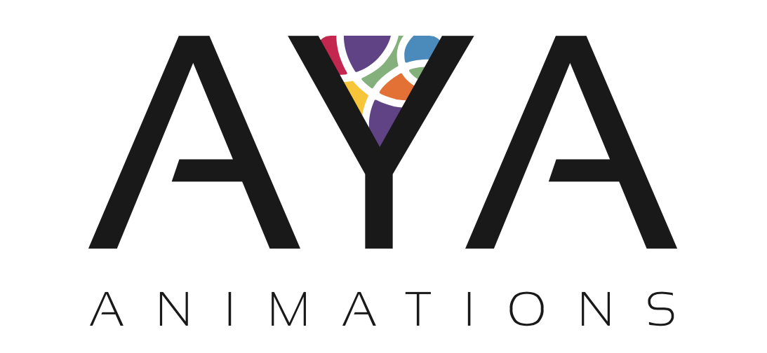 Aya Animations Logo