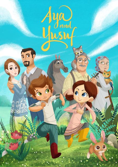 We're Live! AYA Animations Proudly Presents: 'Aya and Yusuf' Season 1